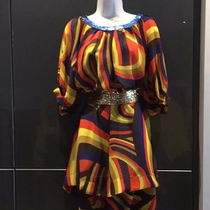 French connection Multi color top/dress